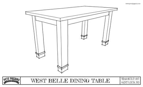 Furniture Plans - Reclaimed wood counter height dining table