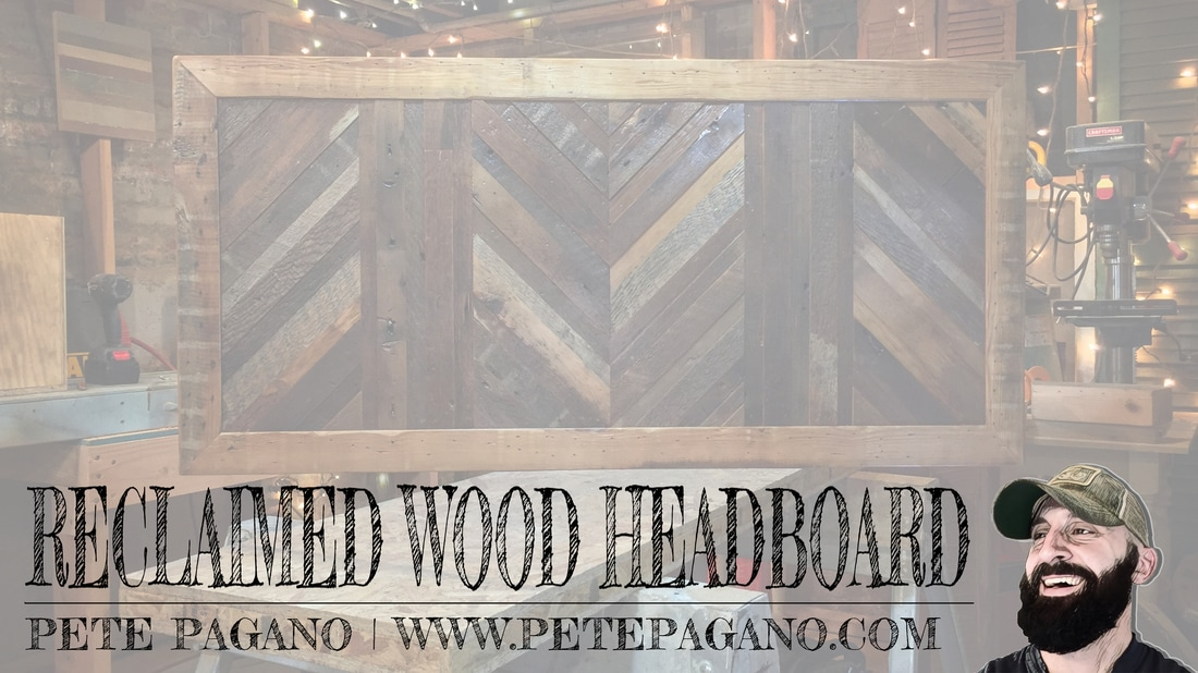 Reclaimed Wood Headboard Video Title Image