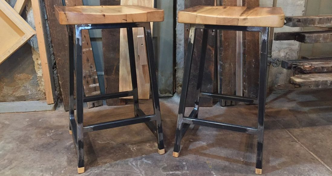 Stools built from 1
